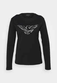 Emporio Armani - Long sleeved top - nero - 0