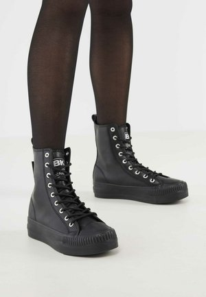 KAYA HIGH - High-top trainers - black black