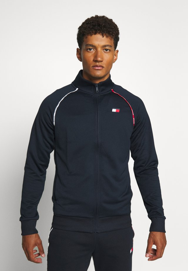 PIPING TRACK  - Training jacket - blue