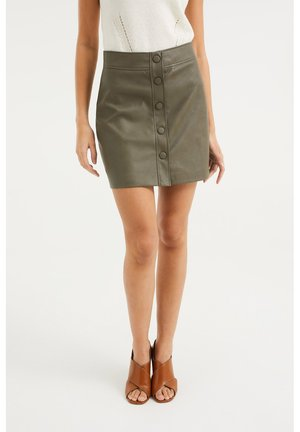 A-line skirt - army green