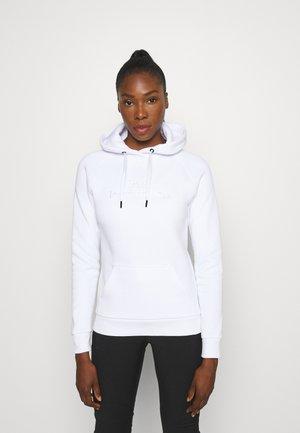 ORIGINAL HOOD - Sweatshirt - white