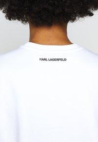 KARL LAGERFELD - LEGEND PRINT - Sweatshirt - white - 5