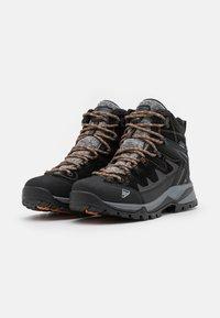 Icepeak - MID CUT WYNNE MS - Hiking shoes - black - 1