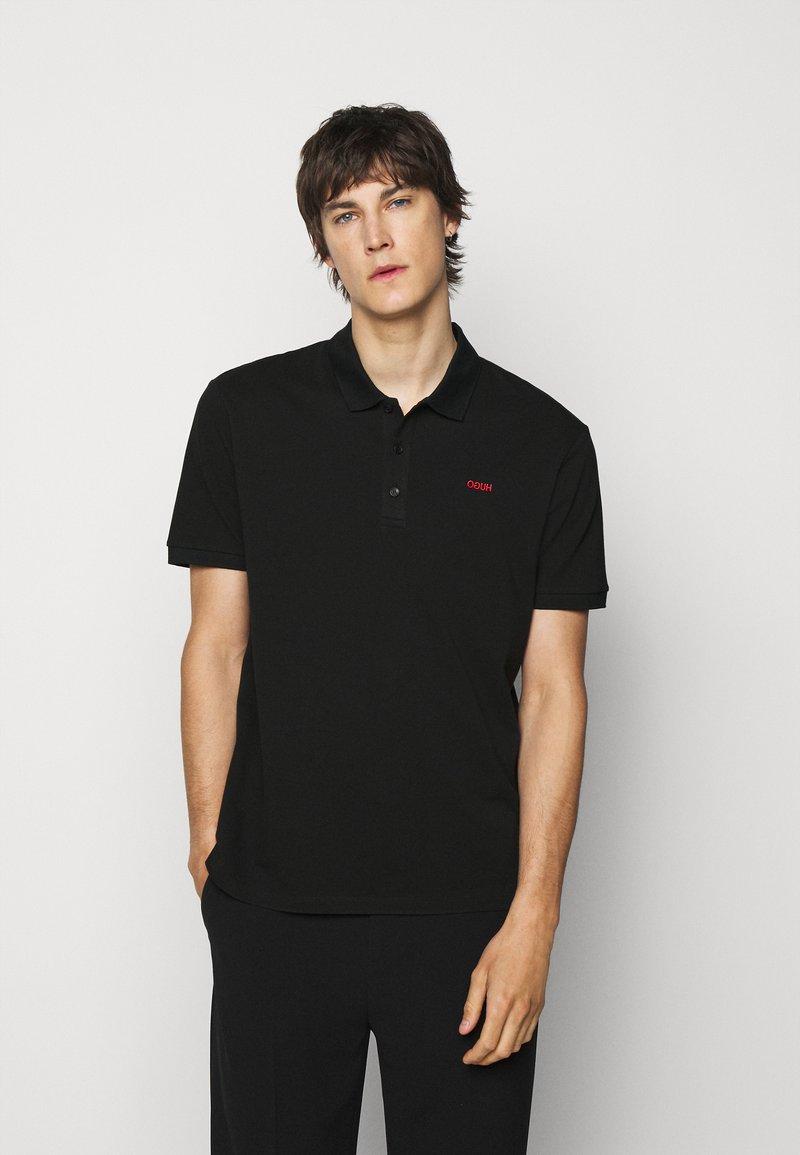 HUGO - DONOS - Polo shirt - black