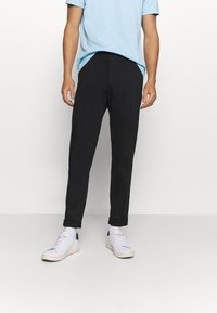 Tommy Hilfiger Tailored - FLEX SLIM FIT PANT - Chinos - black - 0