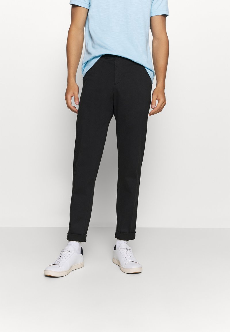 Tommy Hilfiger Tailored - FLEX SLIM FIT PANT - Chino - black