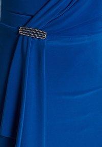 Lauren Ralph Lauren - CLASSIC LONG GOWN - Vestido de fiesta - portuguese blue - 7