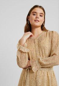 ICHI - OLGA  - Shirt dress - sahara sun - 5