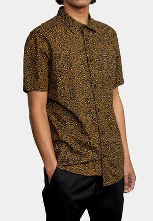 NO FUN  - Shirt - bombay brown