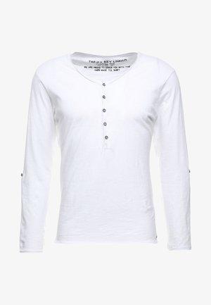 GINGER - Long sleeved top - white