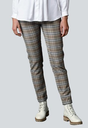 HOSE - Tracksuit bottoms - taupe,grau,off-white