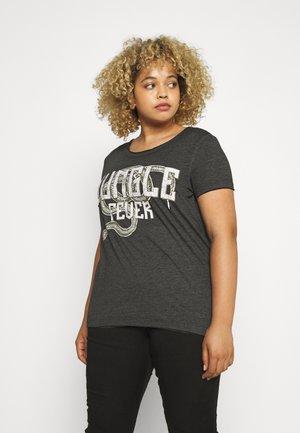 CARDANIA LIFE TEE  - Print T-shirt - black