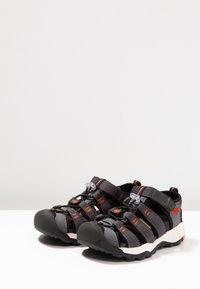 Keen - NEWPORT NEO H2 - Walking sandals - magnet/spicy orange - 3