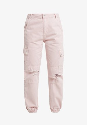 MALIBU DESTROYED - Trousers - light pink
