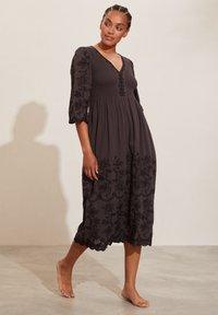 Odd Molly - Day dress - asphalt - 0