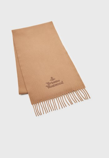 EMBROIDERED SCARF UNISEX - Scarf - camel