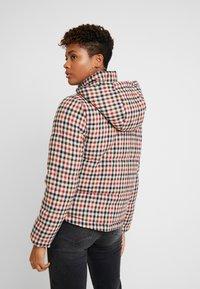 ONLY - ONLSTINA CHECK SHORT JACKET - Winter jacket - moonbeam/ketchup - 2