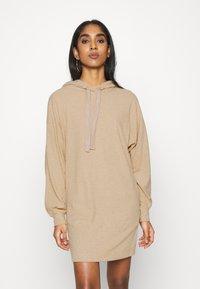 ONLY - ONLZOE DRESS - Vapaa-ajan mekko - beige - 0