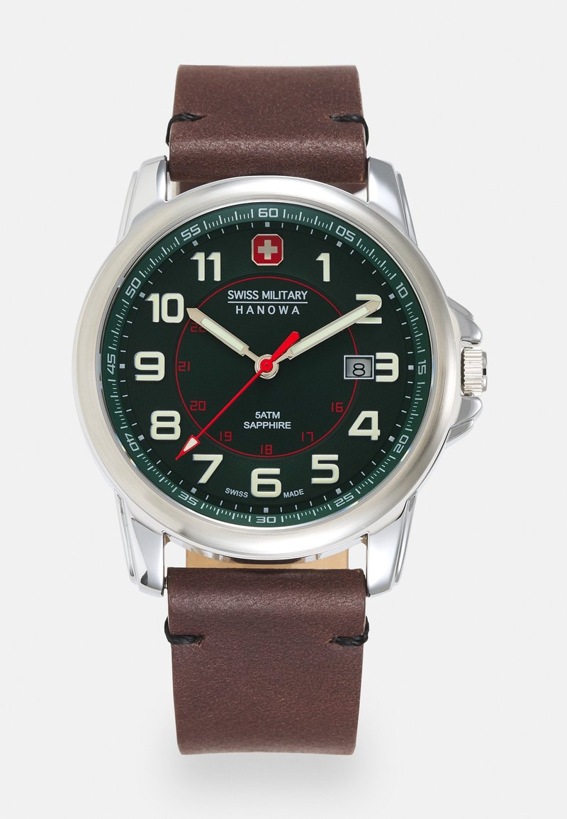 Swiss Military Hanowa - SWISS GRENADIER - Watch - brown