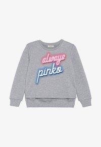 Pinko Up - GELATAIO MAGLIA FELPA - Sweatshirt - mottled grey - 3