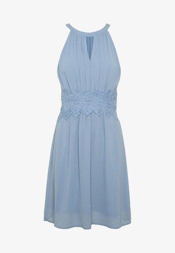 VIMILINA HALTERNECK - Cocktail dress / Party dress - ashley blue