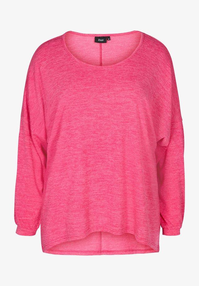 LONG SLEEVE - Bluzka - pink