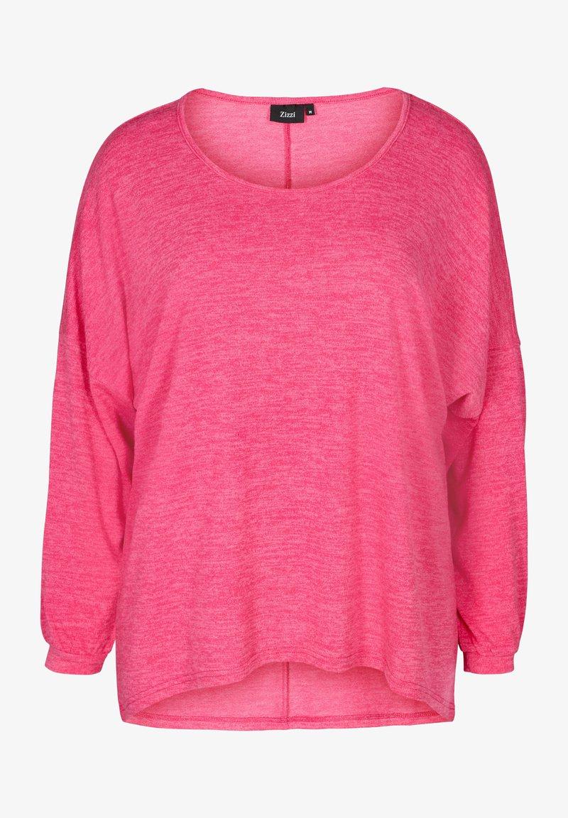 Zizzi - LONG SLEEVE - Blouse - pink