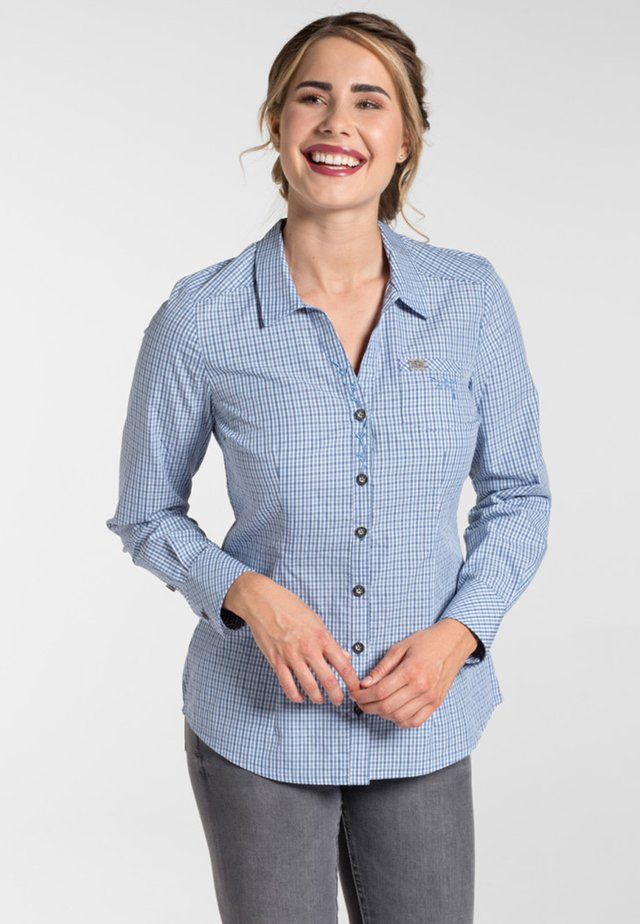 GEISINGEN - Button-down blouse - blue