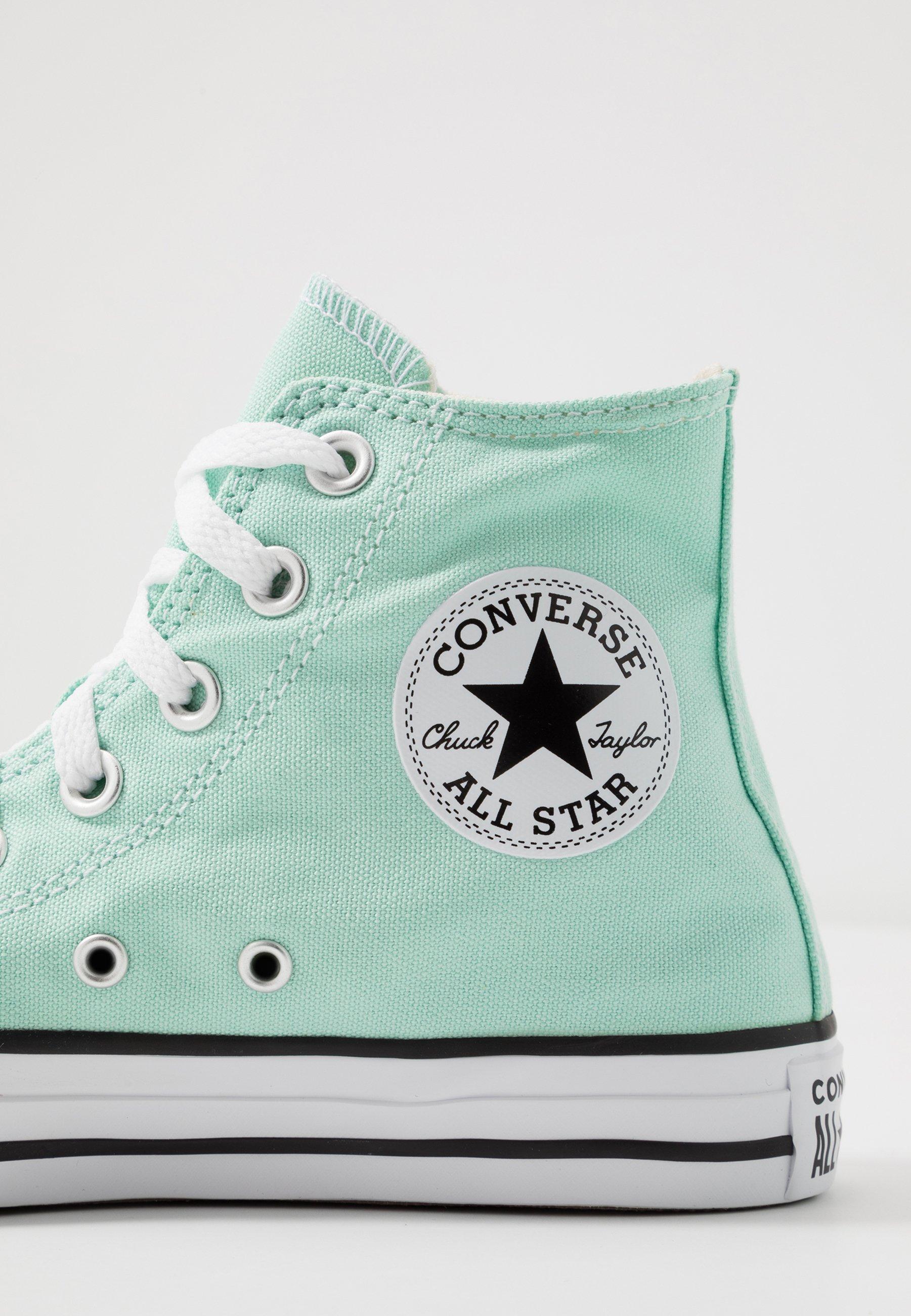 converse niñas all star mint