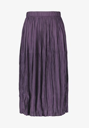 A-line skirt - purple pennant