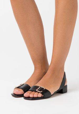 STASSI - Sandals - black