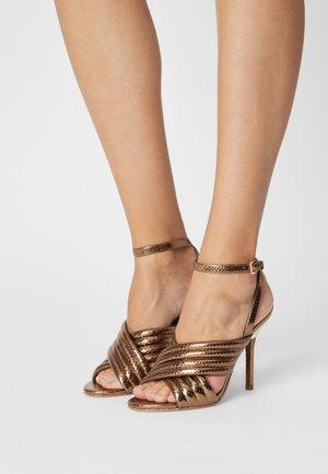 ROYCE - Sandals - dark bronze