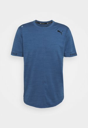 CLOUDSPUN  - T-shirt basic - ensign blue heather