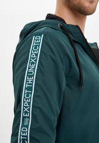 DeFacto - Light jacket - green - 4