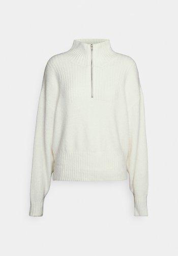 Strikkegenser - off white