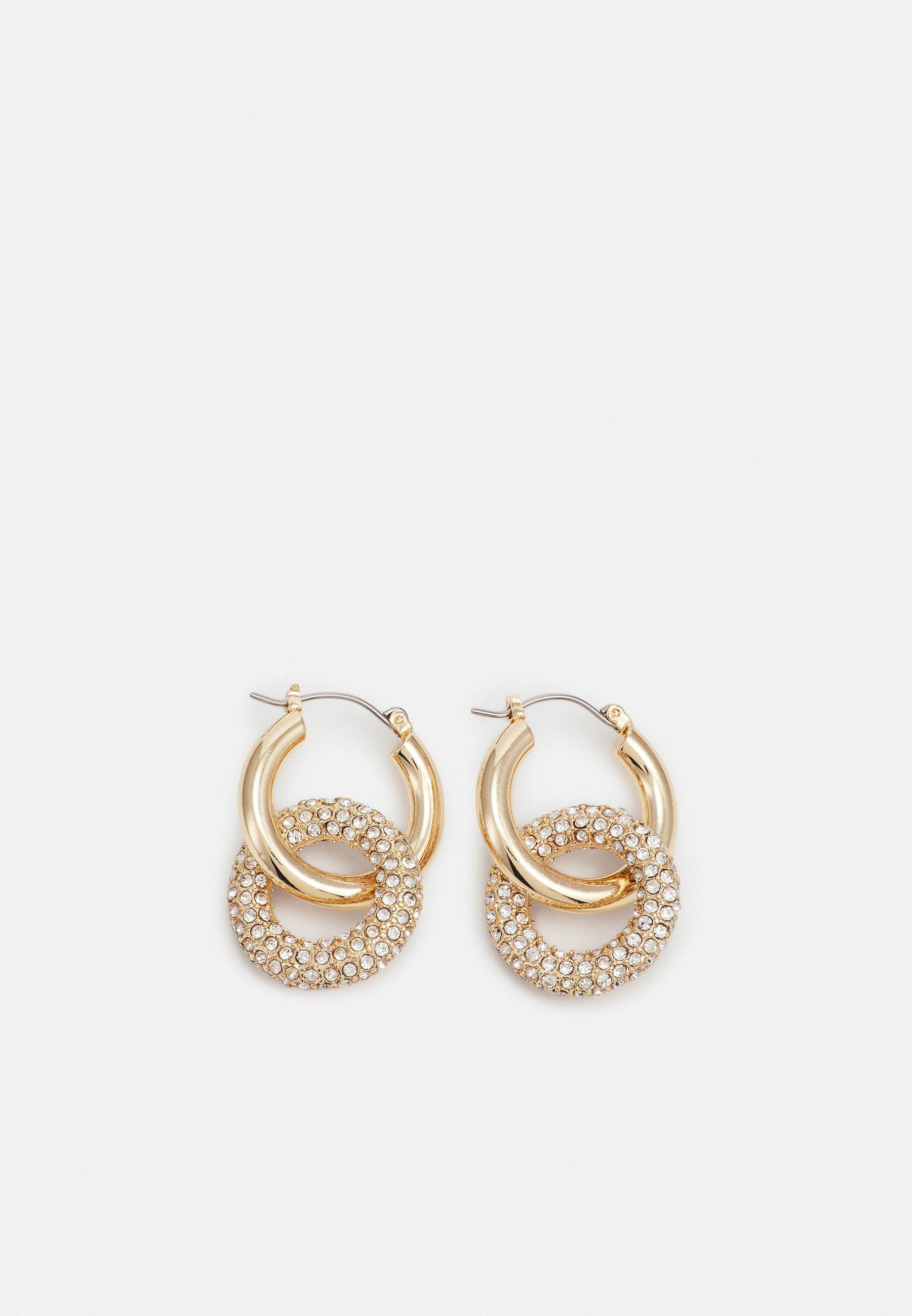 Women PCJYSTAL HOOP EARRINGS 2-IN-1 - Earrings