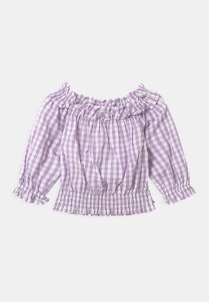 OFF-SHOULDER WITH RUFFLES - Blouse - multi-coloured