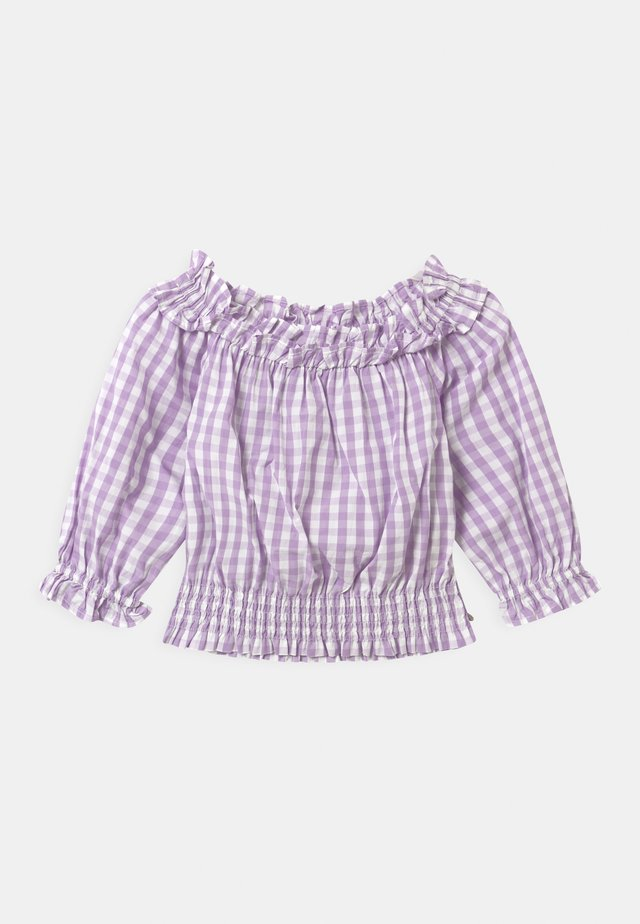 OFF-SHOULDER WITH RUFFLES - Blůza - multi-coloured