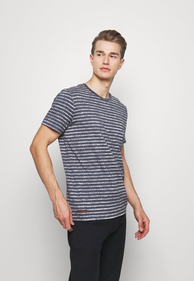 STEEF - T-shirt imprimé - navy