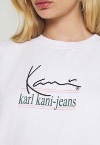 Karl Kani - SIGNATURE CREW - Sweatshirt - white - 5