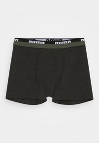 Puma - KIDS LOGO BOXER 2 PACK - Pants - army green - 1