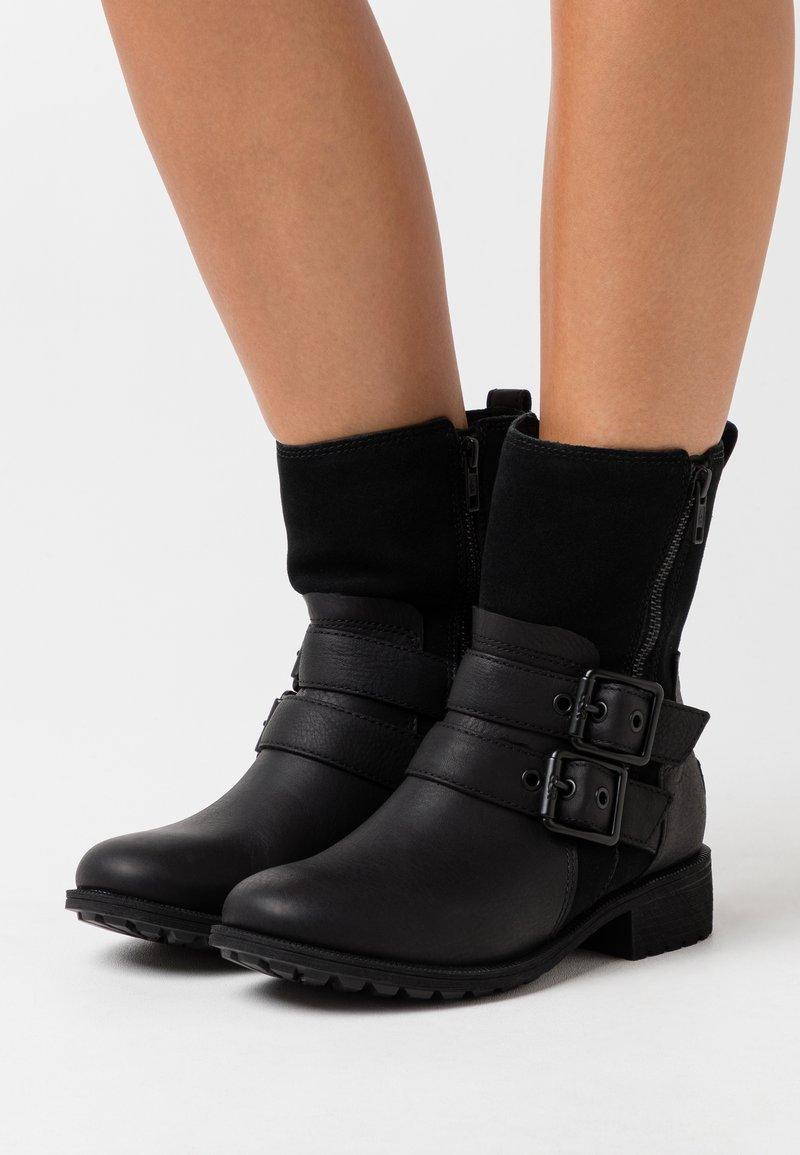 UGG - WILDE - Korte laarzen - black