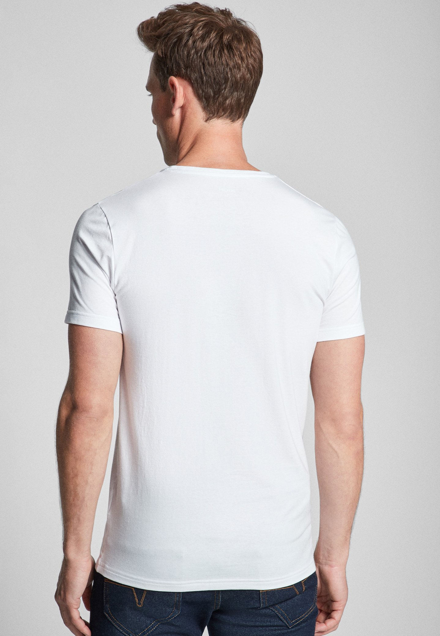 JOOP! 2 PACK  - Basic T-shirt - white pxyYe