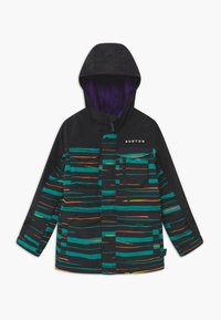 Burton - COVERT SCRIBBLE - Snowboardová bunda - true black - 0