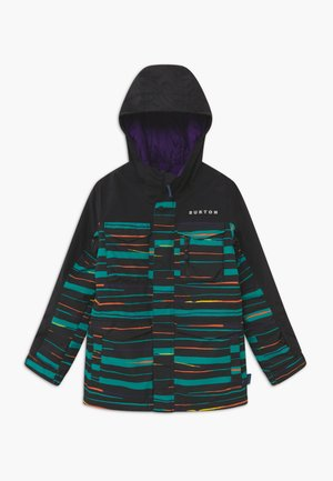 COVERT SCRIBBLE - Kurtka snowboardowa - true black