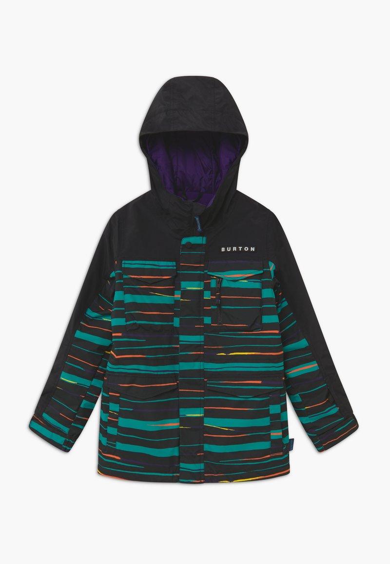 Burton - COVERT SCRIBBLE - Snowboard jacket - true black