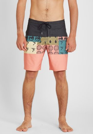 TROPIC BLOTTER PANEL 18 - Shorts da mare - black