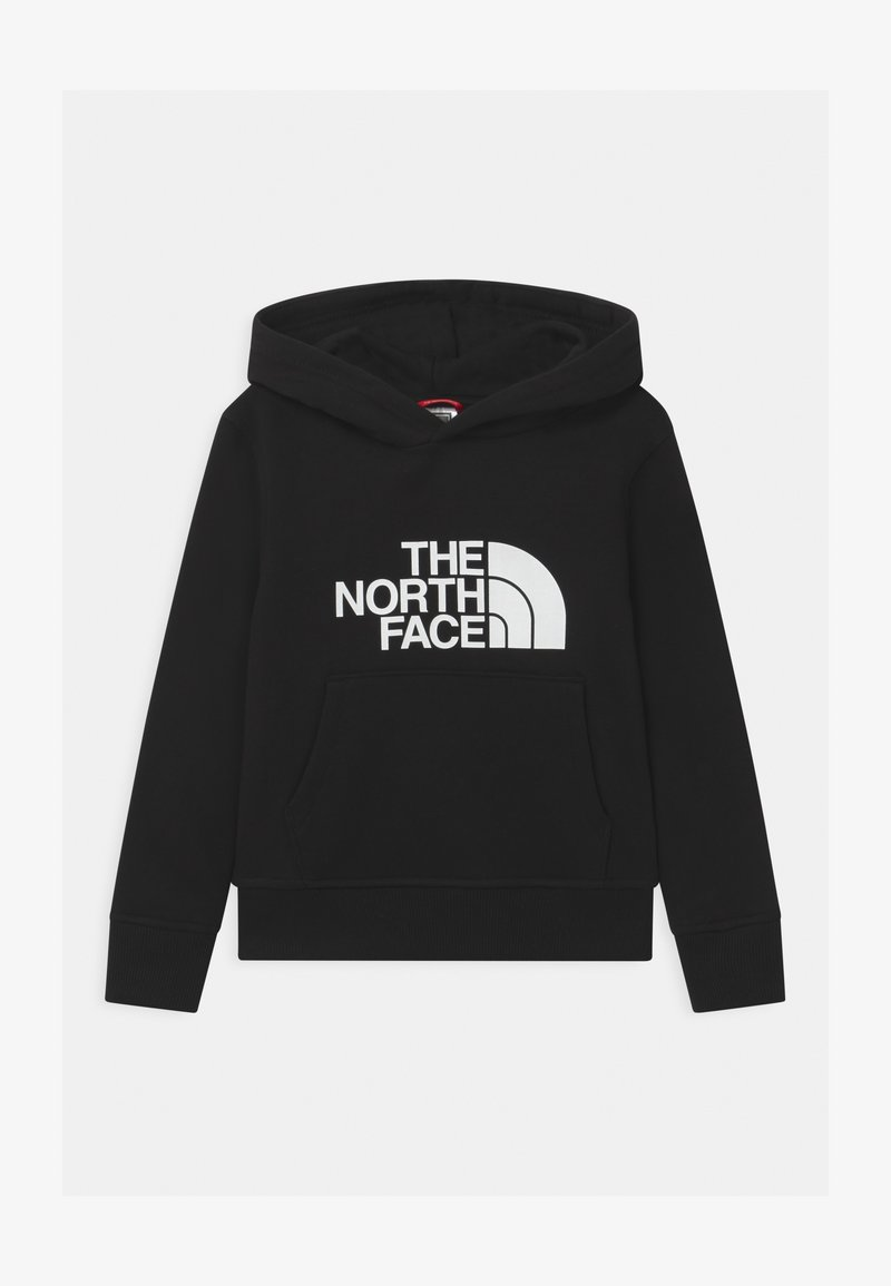 The North Face - YOUTH DREW PEAK HOODIE UNISEX - Jersey con capucha - black/white