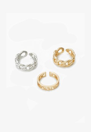 PCMILBA 3 PACK - Ringar - gold-coloured/silver-coloured