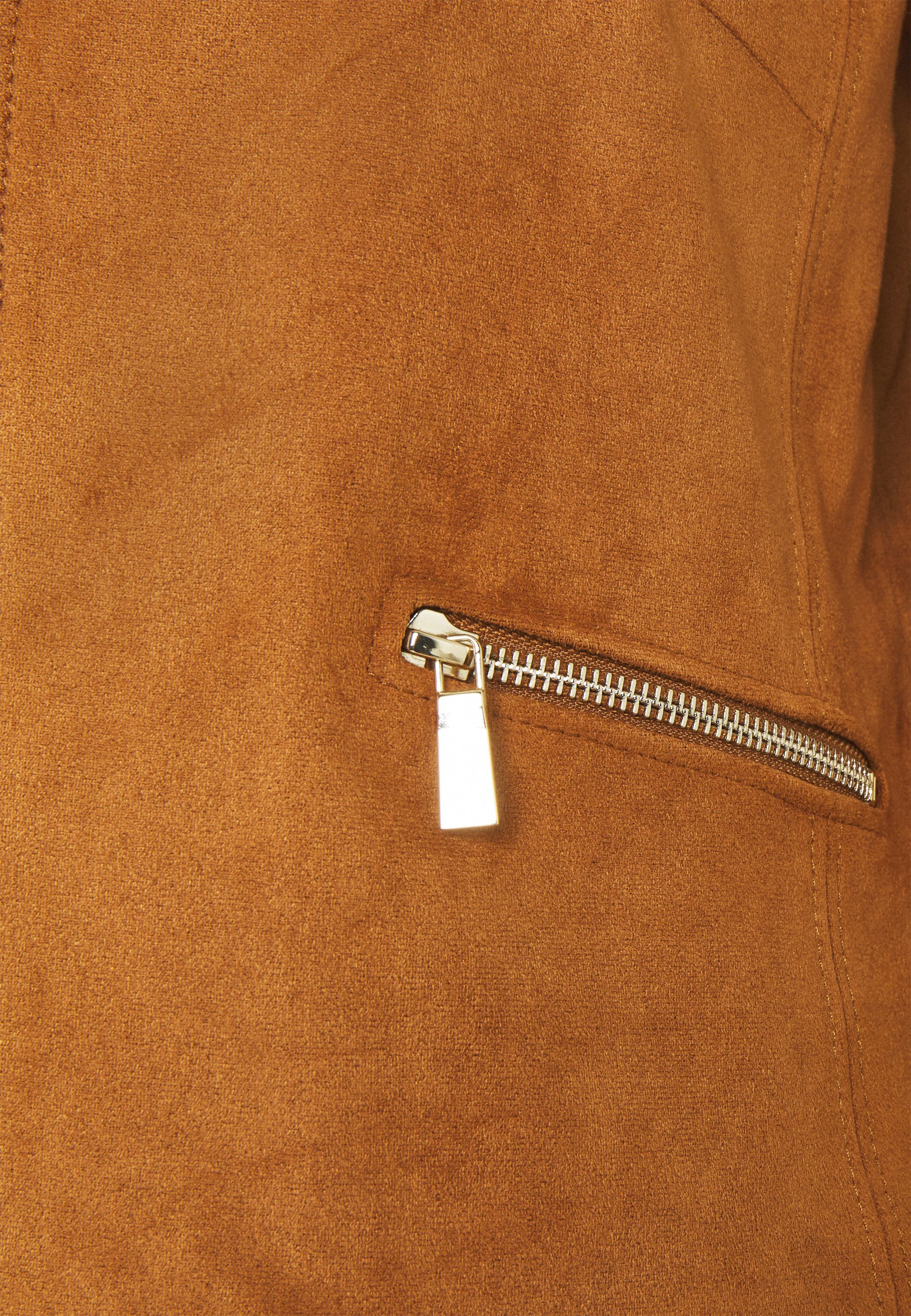 Best Seller Women's Clothing s.Oliver BLACK LABEL Faux leather jacket peanut bro 8xYrOyYrr